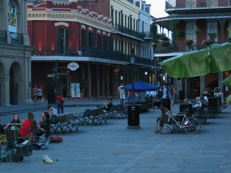 gdzies we French Quarters - Nowy Orlean - LA