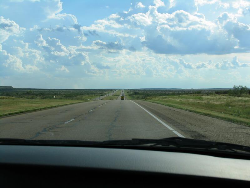texas w drodze (i amerykanskie drogi)