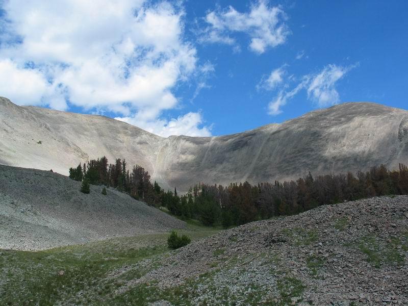 Yellowstone Park - Avalanche Mt