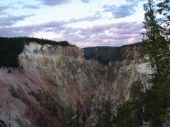 Yellowstone Park - Canyon