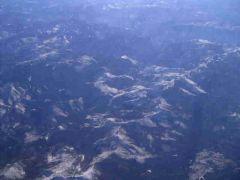 RIO Grande - widok na góry z lotu ptaka