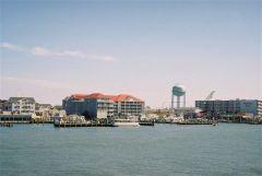 Ocean City-widok od strony west OC