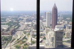 Widok na Atlante z wiezowca