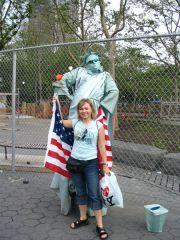 Żywa Statua Wolności