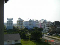 kolorowe domki w Atlantic Beach
