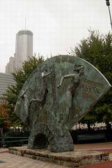 Park Olimpijski w Downtown Atlanty