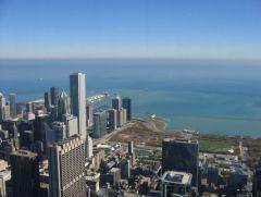 widok z Seas Tower
