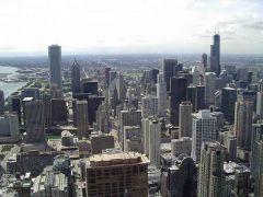 Widok na miasto z JHC
