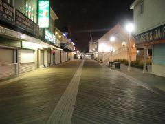 Ocean City-Boardwalk by night