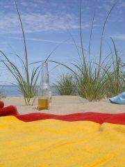 Pocztówka z wekendu - Jezioro Plaża itd