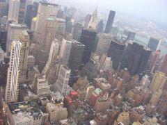 Widok z Empire State Building