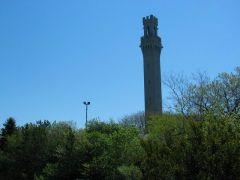 Pilgrim Monument w Provincetown MA