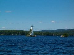 Sunapee lake lighthouse