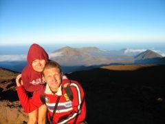 Na szczycie wulkanu Haleakala - Maui