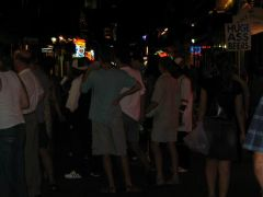 Bourbon Street noca - New Orleans