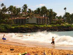 Jedna z plaż na Maui