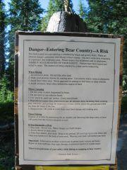 Yellowstone Park - instrukcje w razie ataku grizzlie