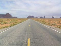 Widok z asfaltu