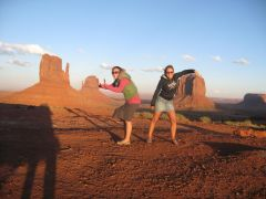monument valley, ach te skalki.....male ;)