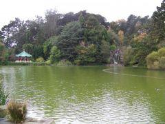 Park stworzony przez czlowieka