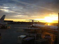 Świt na lotnisku O'Hare