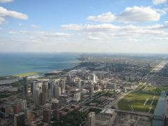 Widok z Sears Tower