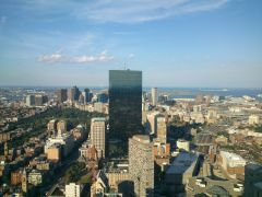 Boston skywalk